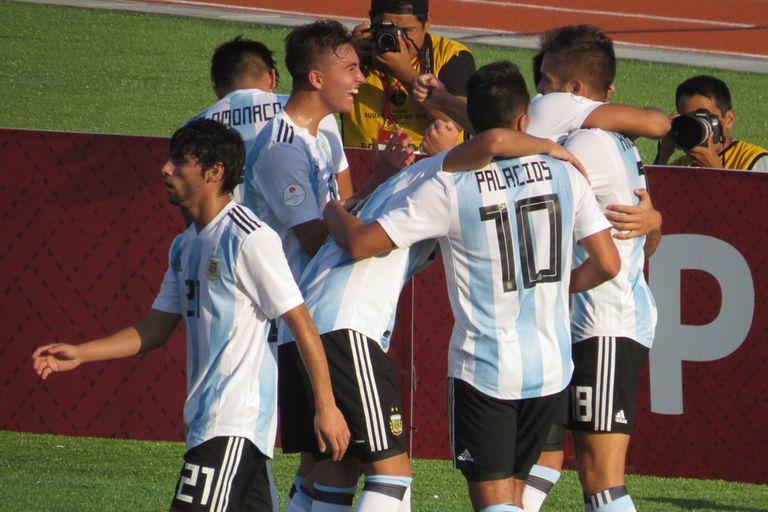 Sudamericano Sub 17: Argentina goleó a Paraguay y se clasificó para Brasil 2019