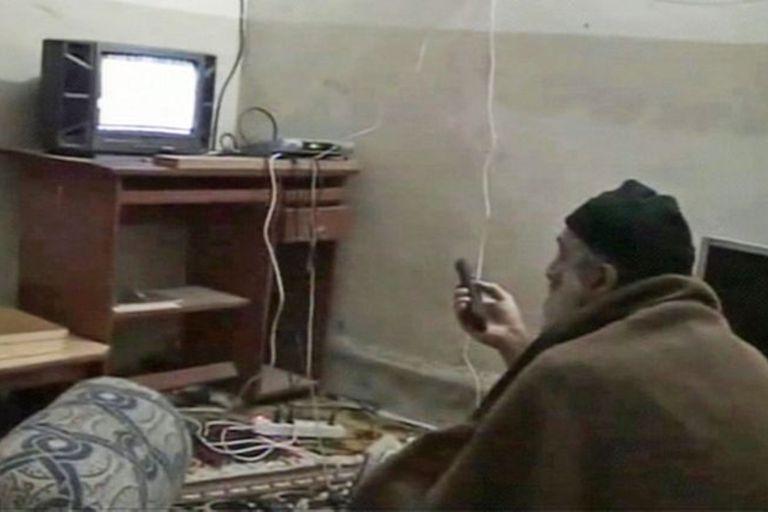 Una de las últimas fotos de Osama Ben Laden en su casa de Paquistán
