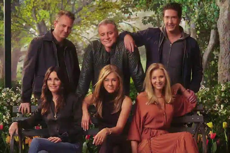 En 2021 HBO Max estrenó el esperado capítulo de reencuentro de las seis estrellas de Friends