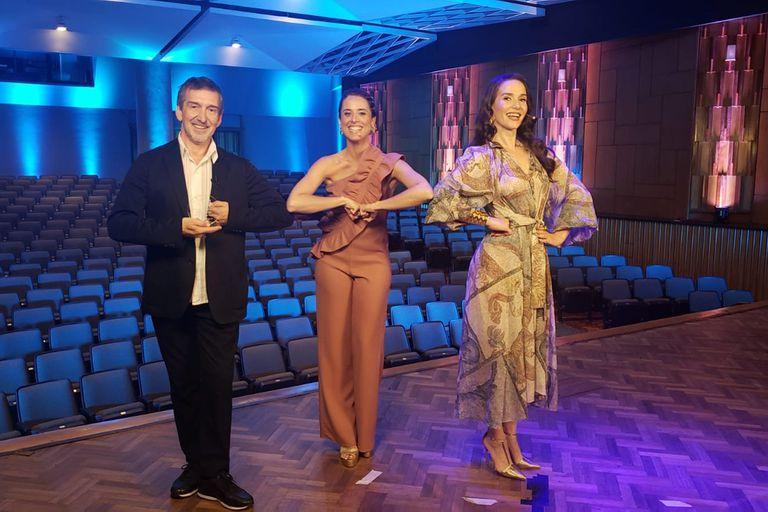 Escala Danzar por la Paz, con Natalia Oreiro, María Riccetto y Julio Bocca