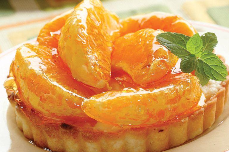 Tarteletas de mandarina