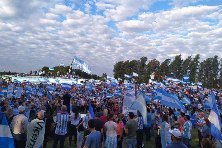 En Twitter: cómo es el banderazo nacional contra la expropiación de Vicentin