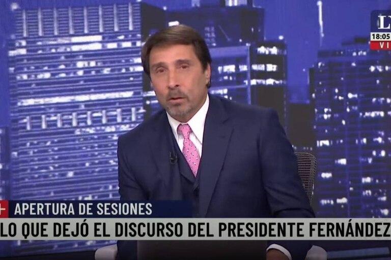 """El periodista de El Noticiero señaló además que el núcleo duro del cristinismo consideran al presidente como """"una mala fotocopia"""" de la expresidenta del país"""