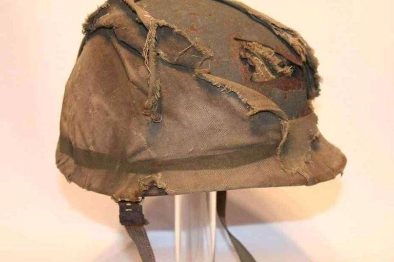 "El casco de Jorge ""Beto"" Altieri"