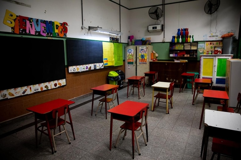No más de 15 alumnos por aula, una de las medidas que implementaron en la Escuela Provincia de Córdoba