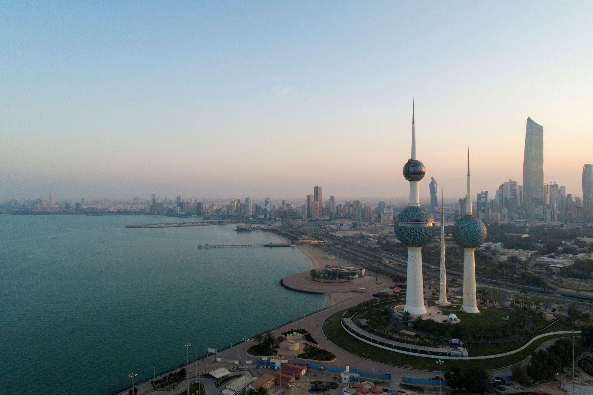 Vista de la ciudad de Kuwait