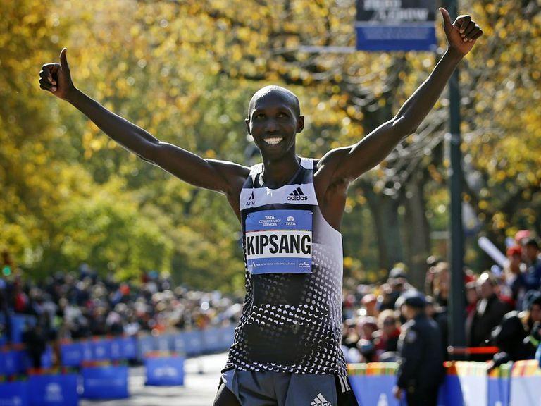 Kipsang, segunda mejor marca del mundo en maratón