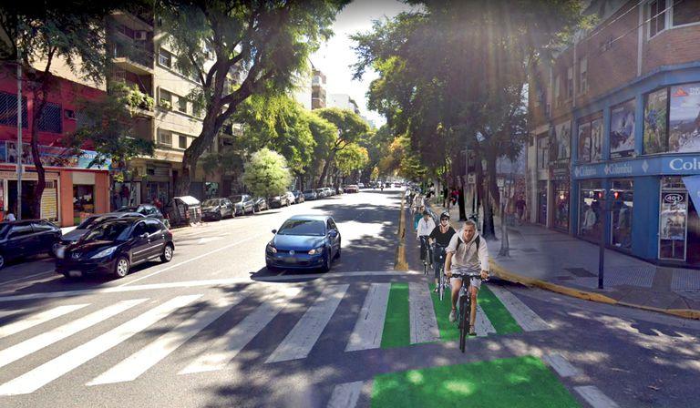 Después de Corrientes y Córdoba, otra avenida porteña sumará una ciclovía