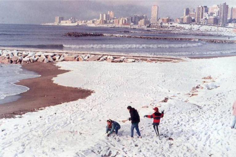 El Servicio Meteorológico pronostica posibles nevadas para Mar del Plata