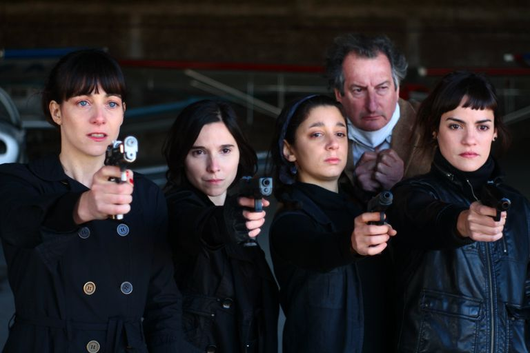 Una escena del film de Mariano Llinás protagonizado por las actrices de Piel de Lava, que llevó diez años de realización