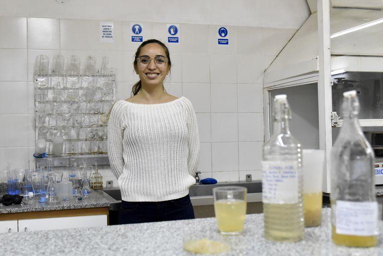 Gisela Gómez, de 35 años, es maestra del Instituto Provincial de Educación Técnica (IPET) Nº 85 República de Italia, en Córdoba