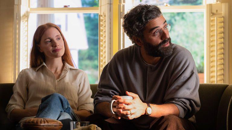 Jessica Chastain y Oscar Isaac en Secretos de una matrimonio