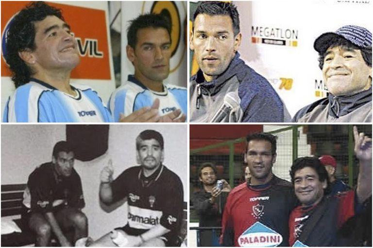 Con Armando...., como Gamboa llamó y llamará por siempre a Diego Maradona