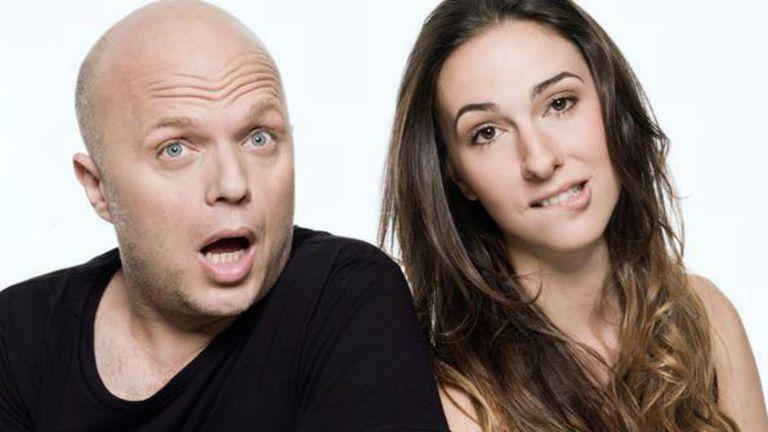 Sebastián Wainraich y Julieta Pink, Metro y Medio