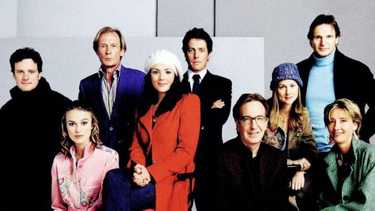 El elenco de Realmente amor en el año 2003