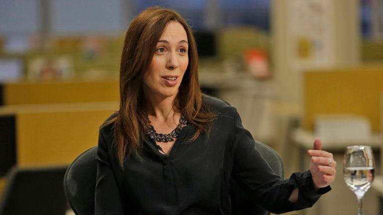 La gobernadora bonaerense, María Eugenia Vidal, una de las grandes ganadores con los cambios
