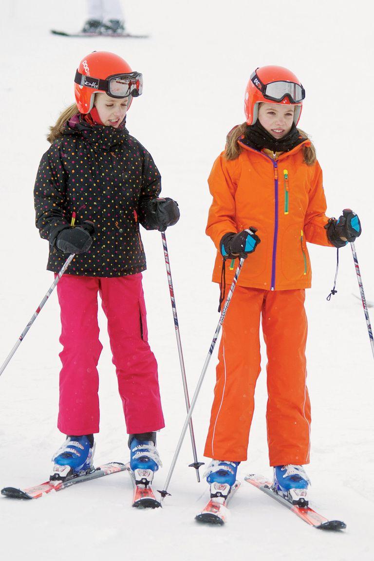 Este 2019, la princesa de Asturias –que domina a la perfección el esquí– comenzó a estudiar árabe.