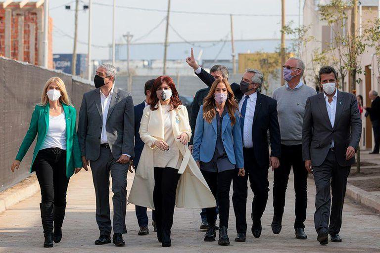 Cómo y dónde se mostrarán Fernández, Cristina, Máximo y Massa en el sprint final de la campaña