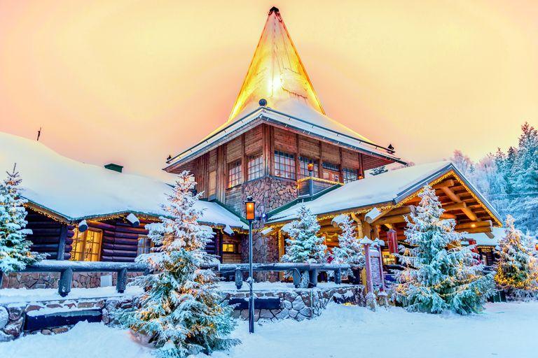 Navidad. Conocé la verdadera casa de Papá Noel en Finlandia