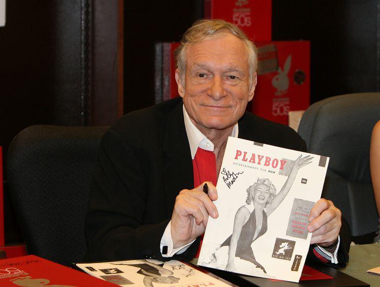 Hugh Hefner, fundador de la revista Playboy