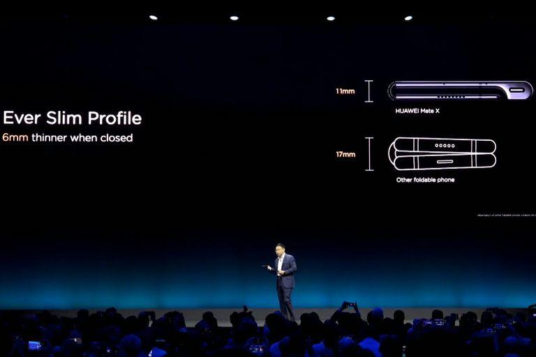 Las características del smartphone plegable Huawei Mate X