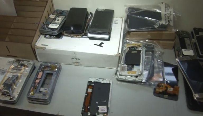 Desbloqueaban celulares y los vendían en locales de Belgrano