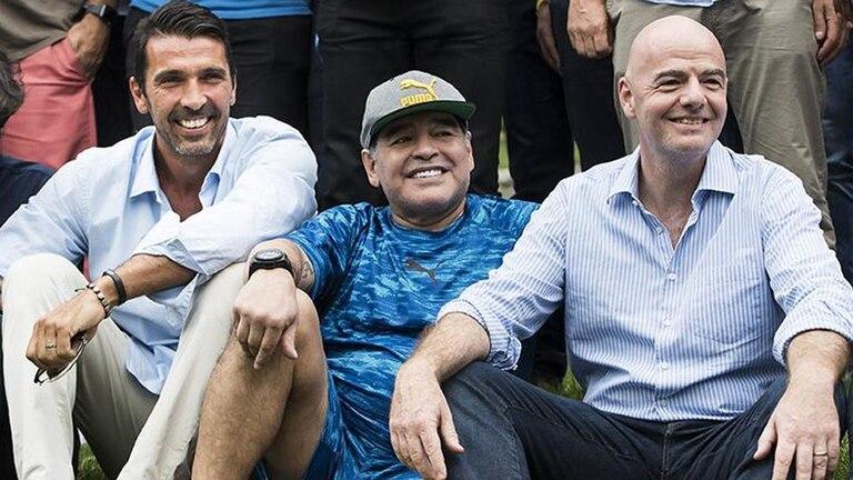 El mensaje de Maradona Italia tras su eliminación