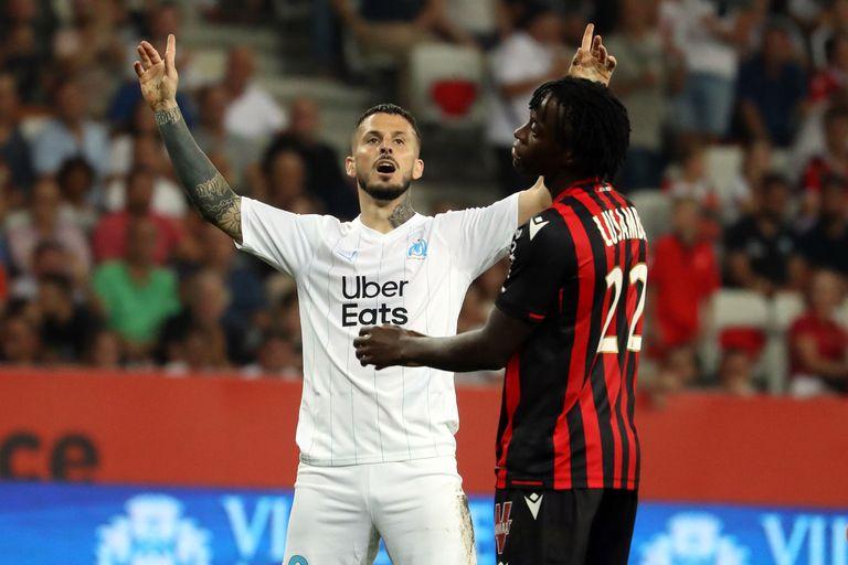 Benedetto. Reproche del DT y obediencia: mirá su primer gol en Marsella