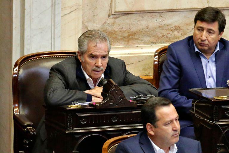 Felipe Solá hoy en la Cámara de Diputados