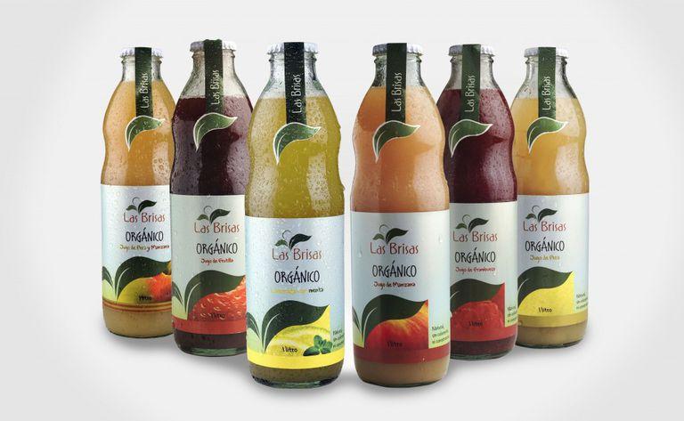 Las Brisas fue la primera marca argentina de jugos orgánicos; hoy tiene más de 100 productos diferentes y tres marcas propias