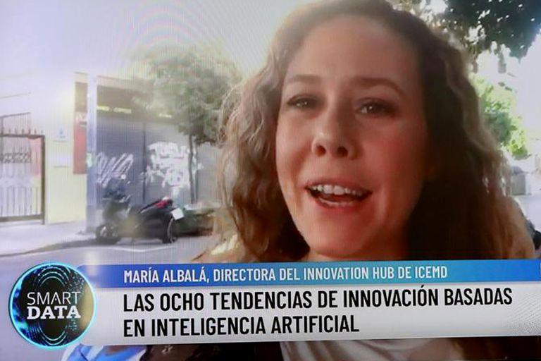 María Albalá conversó desde España sobre las nuevas tendencias en IA