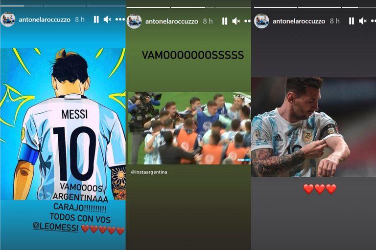 El mensaje de Antonella para Lionel Messi
