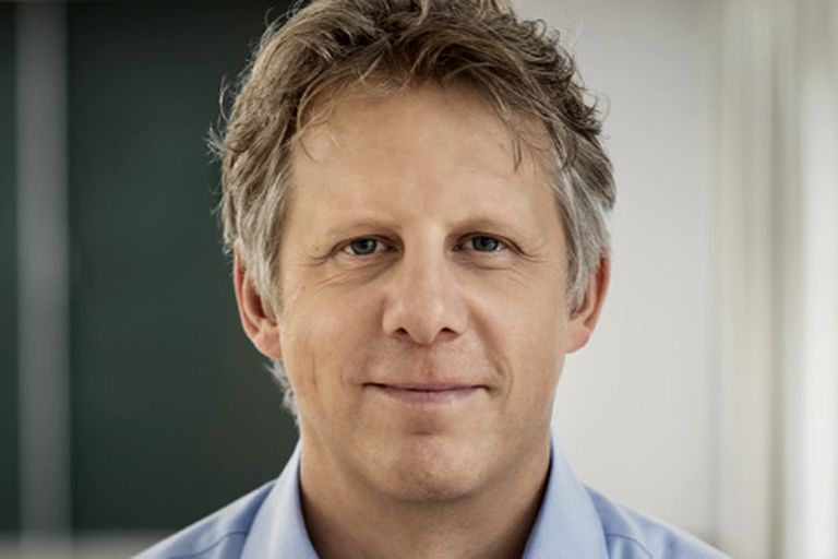 Sierk Poetting, CEO de BioNtech, la compañía alemana que desarrolló la primera vacuna de ARNm contra el Covid-19