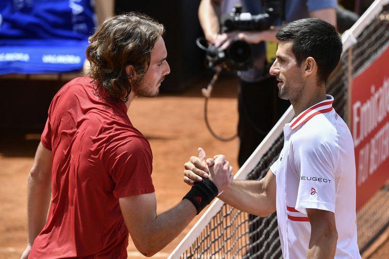 Novak Djokovic y Stefanos Tsitsipas sostuvieron uno de los encuentros más entretenidos de la temporada de polvo de ladrillo del ATP Tour.