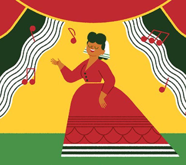 Ángela Peralta: el homenaje de Google a la soprano mexicana que conquistó Europa