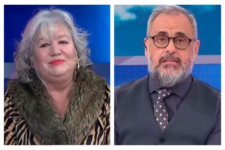 Estelita, la ex de Luis Ventura, fulminó a Jorge Rial tras el fin de TV Nostra