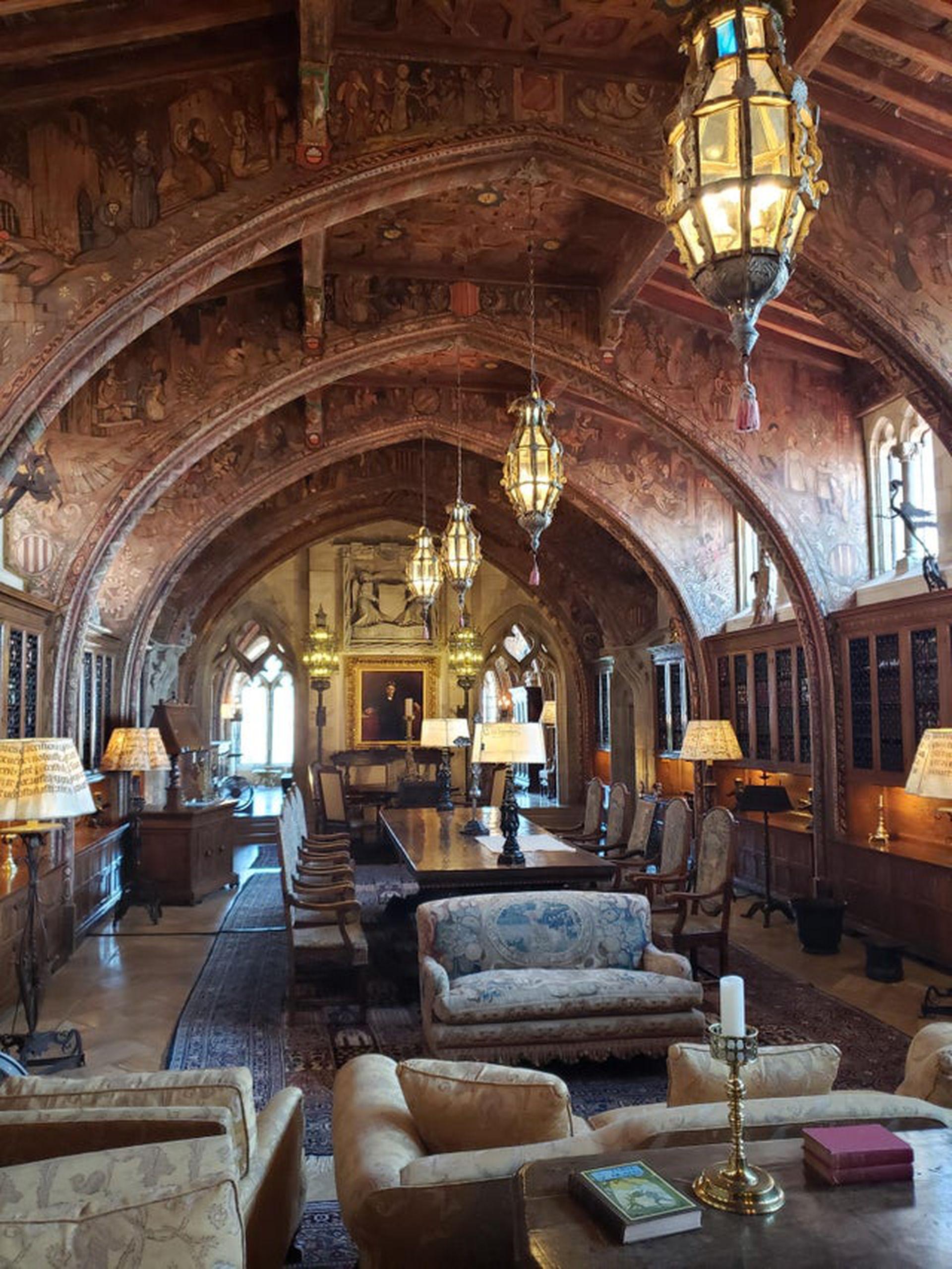 Tras una escalera de 322 escalones se accede a la Gothic Suite de la Casa Grande.