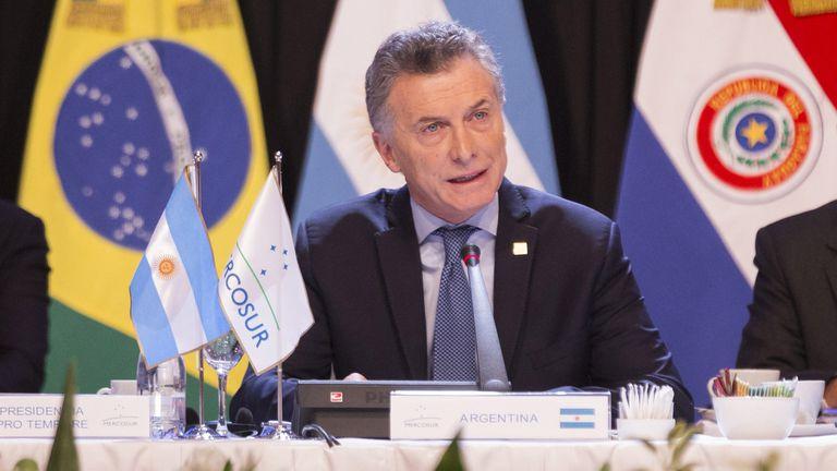 """En el cierre de la cumbre del Mercosur, el presidente Mauricio Macri pidió """"trabajar en cuestiones concretas para la integración de la región"""""""