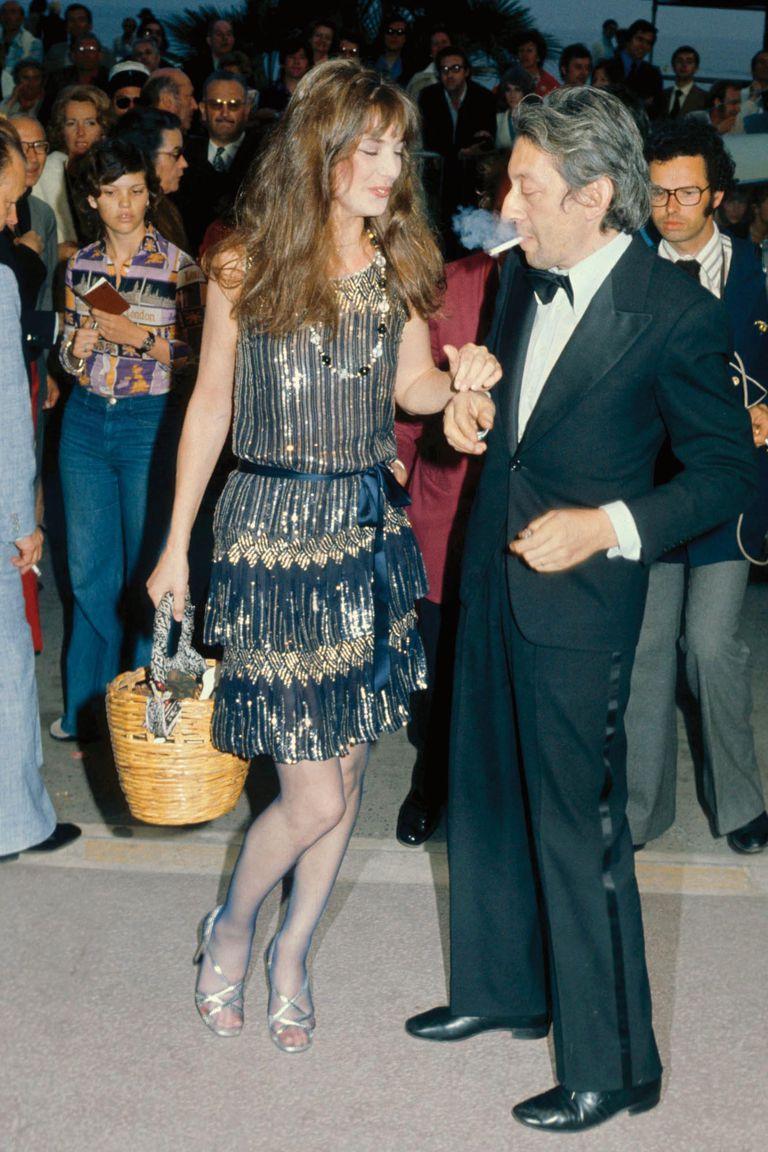 Pese a la diferencia de edad, la pareja funcionaba como un imán. En la foto, durante su paso por el Festival de Cine de Cannes, en 1974.