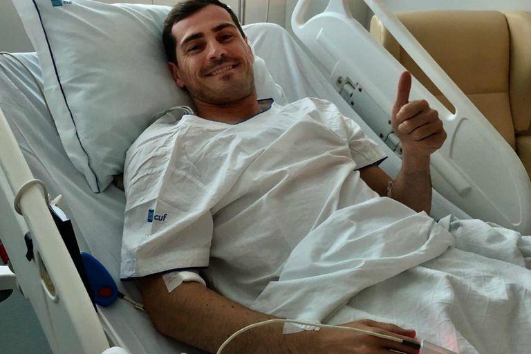 Iker Casillas agradeció los mensajes de afecto y dice que ya pasó el susto