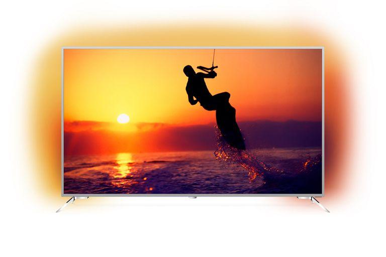 Philips presentó su nuevo televisor Smart TV Ambilight de 75 pulgadas