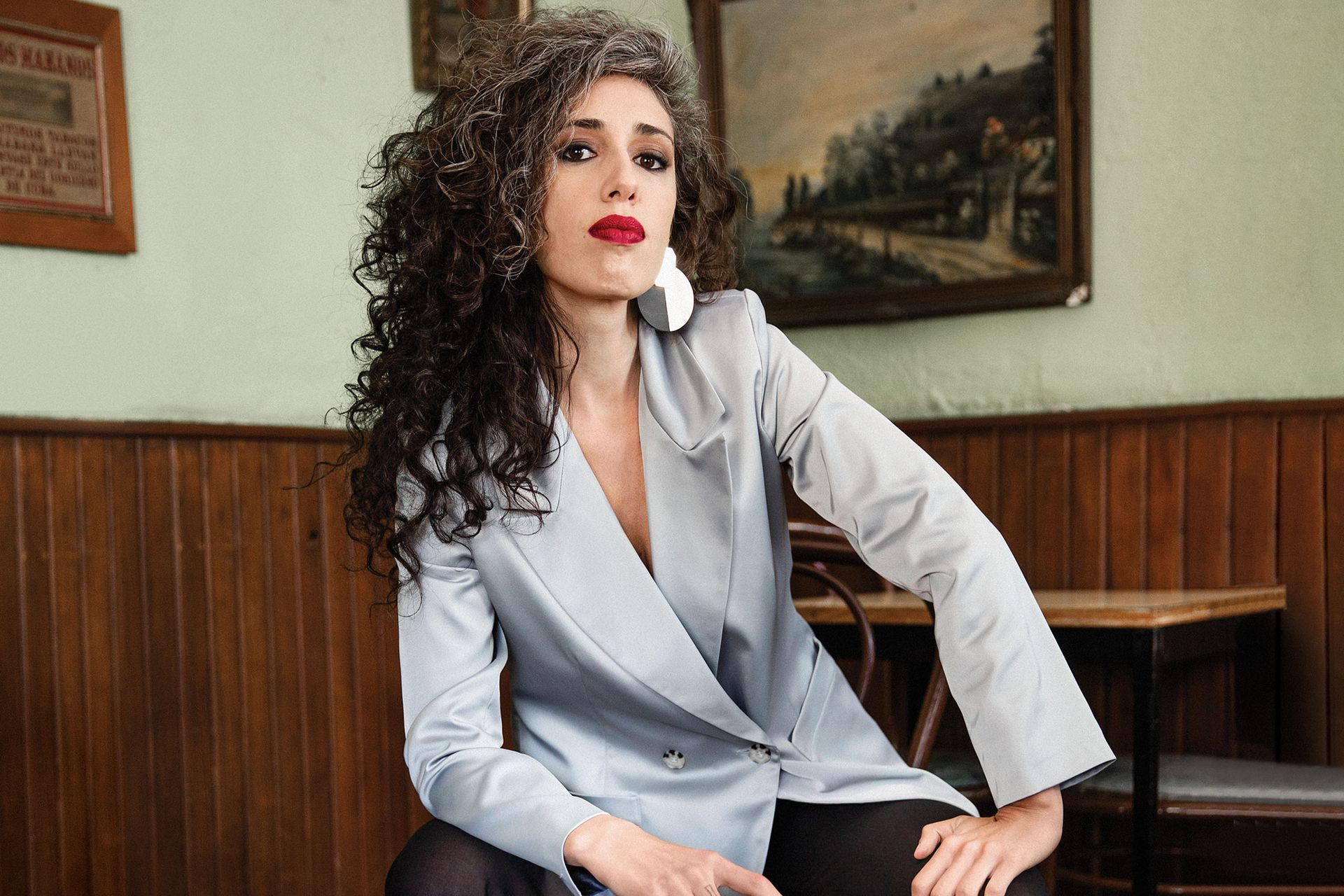 Paula Maffia, tapa de octubre de 2019.