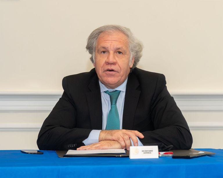 19-02-2021 Luis Almagro, secretario general de la OEA POLITICA INTERNACIONAL OEA/JUAN MANUEL HERRERA