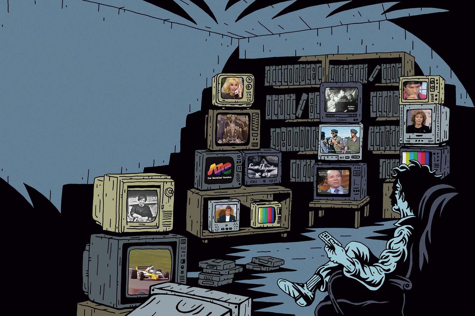 El Archivo DiFilm supera los 108 millones de vistas en sus dos canales de YouTube y se convirtió en un negocio formidable.
