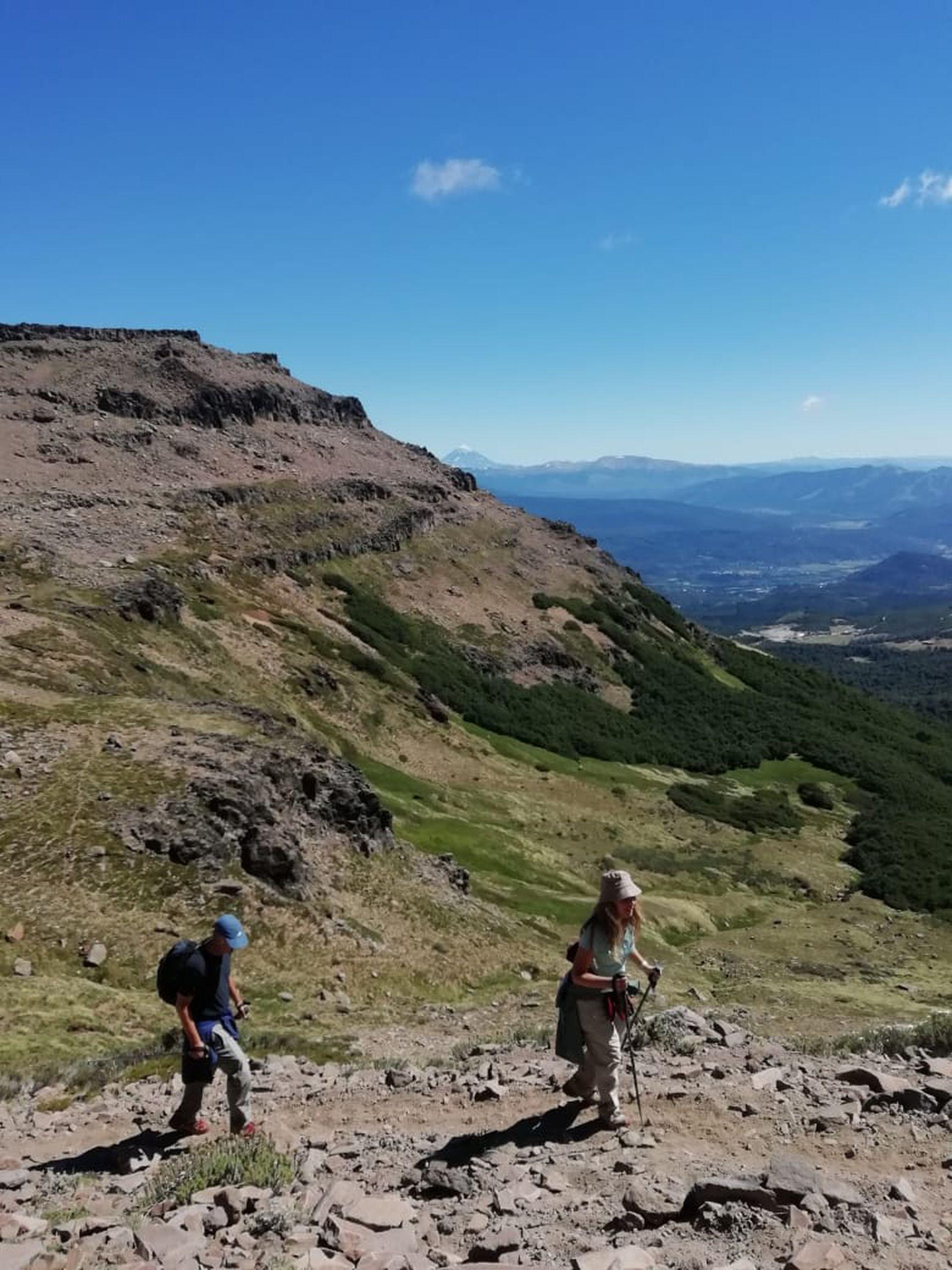 Ascenso al cerro C4 en San Martín de los Andes