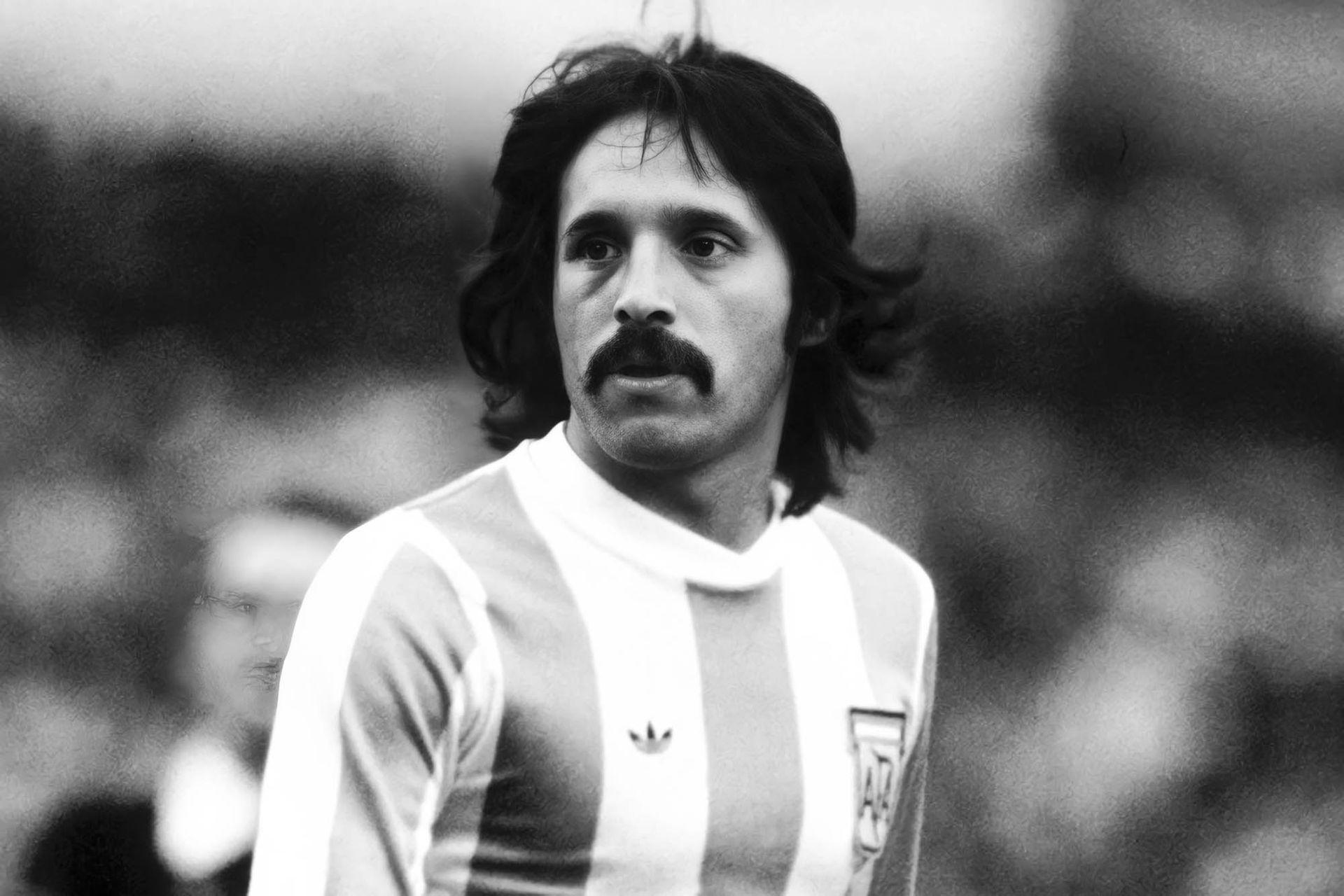 El jugador de fútbol se consagró campeón argentino en el Mundial de 1978