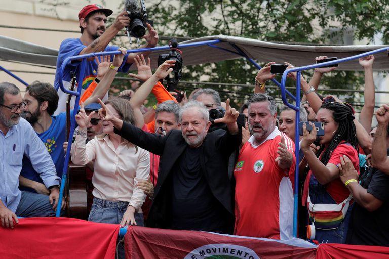 """Lula: """"Sigamos el ejemplo de la Argentina, donde le dieron una paliza a Macri"""""""