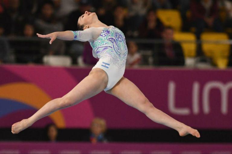 Martina Dominici impresionó con sus seis medallas en los Juegos Odesur de Cochabamba 2018 y también mostró su plasticidad en Lima 2019