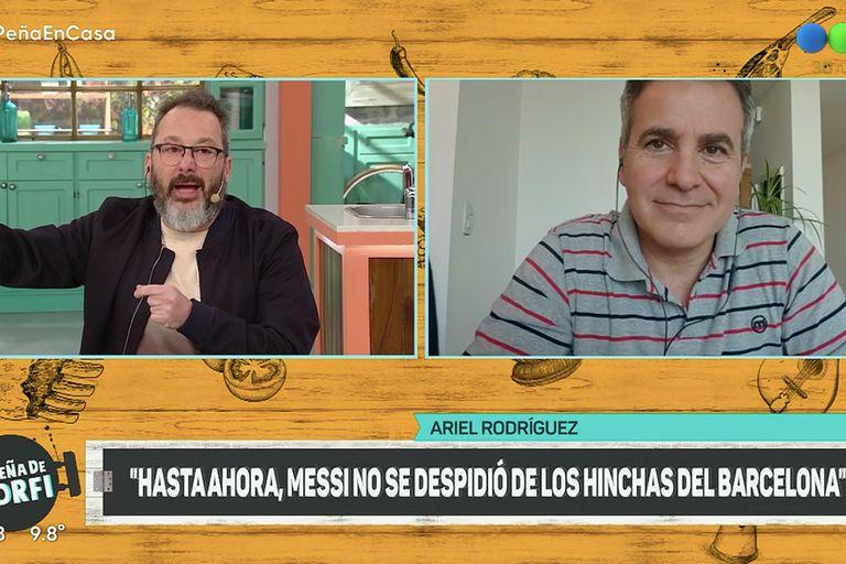 """Rozín cruzó al """"periodismo deportivo"""" tras su pelea con Vignolo por Messi"""