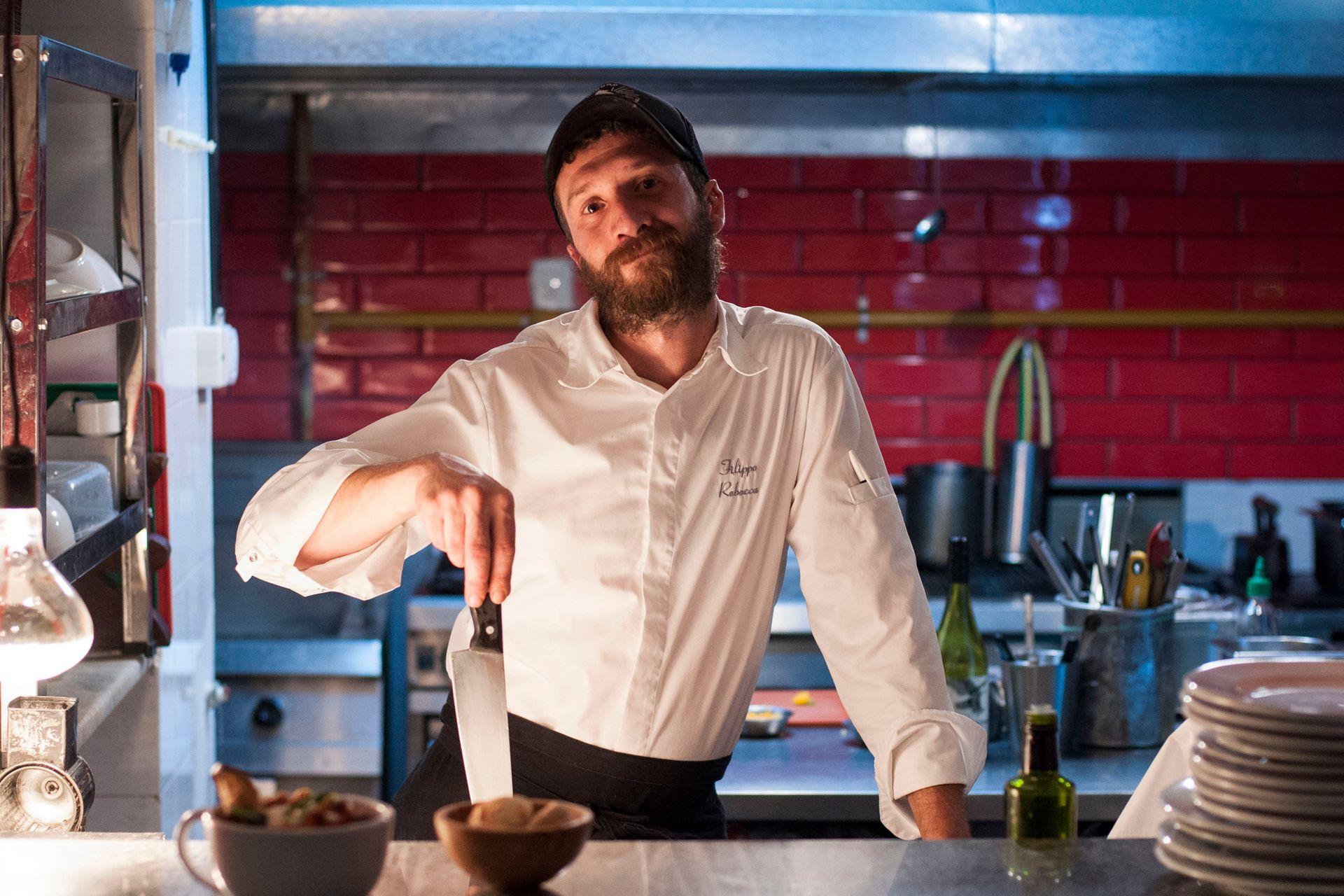 Pippo llegó a Buenos Aires en 2006 y recién hace 10 meses abrió su primer restaurante